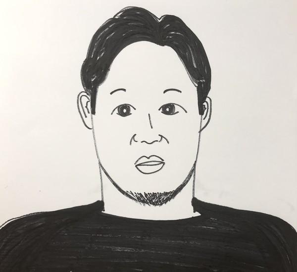 朝倉未来の手書きオリジナル似顔絵