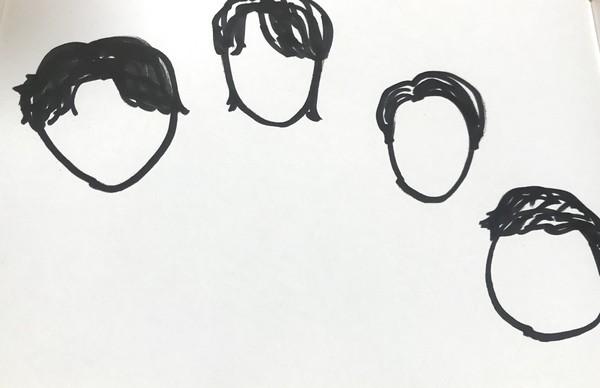 朝倉未来Youtubeメンバーの似顔絵