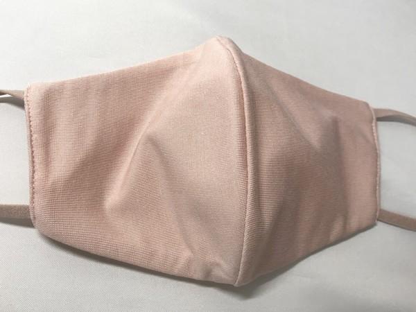 ジーユー高機能フィルター入り新作マスクの無地ピンク