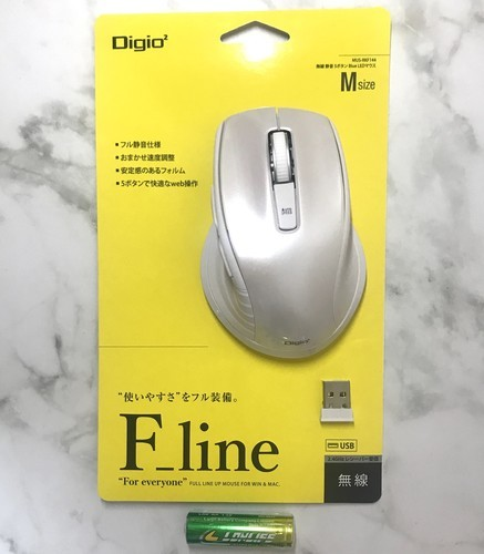 ナカバヤシ Digio2 F_line MUS-RKF144W レビュー