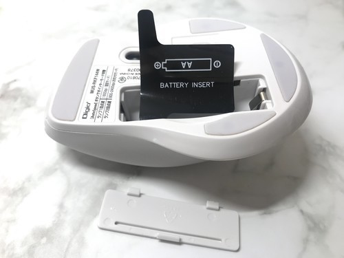 ナカバヤシ Digio2 F_line MUS-RKF144W 乾電池入れ方
