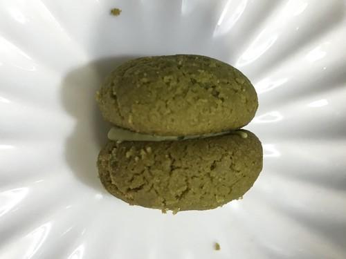 芳翠園抹茶味のイタリアビチェリンのクッキー