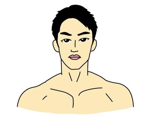 RIZINバンタム級トーナメント出場の朝倉海選手の似顔絵