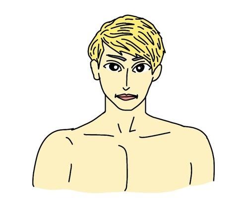 RIZIN総合格闘家の渡部修斗選手の似顔絵