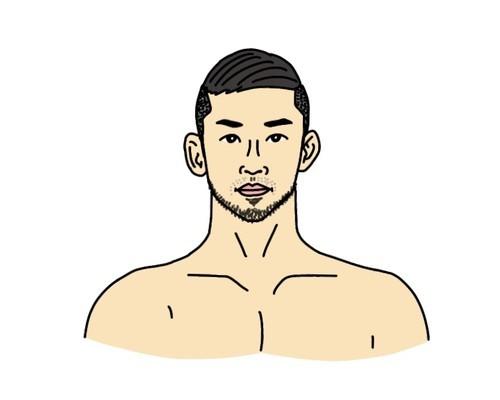 RIZIN総合格闘家の石渡伸太郎選手の似顔絵