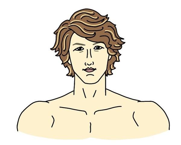 RIZIN総合格闘家の井上直樹選手の似顔絵