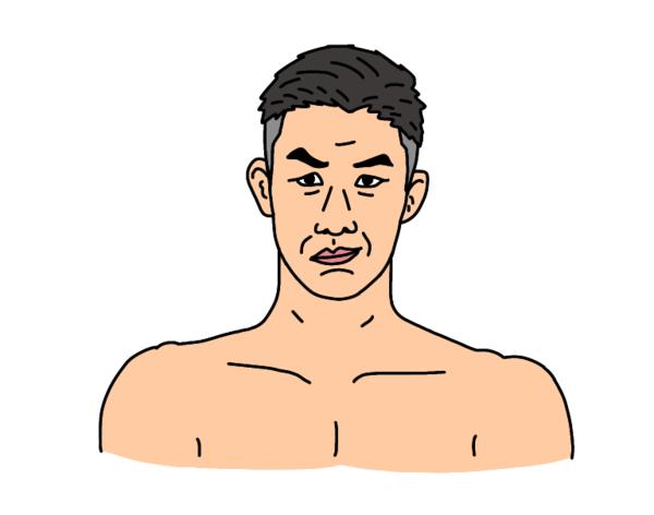 RIZIN29出場 大塚隆史選手の似顔絵