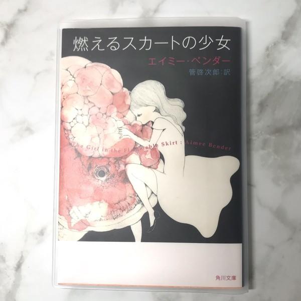 100円ショップダイソーの透明ブックカバー