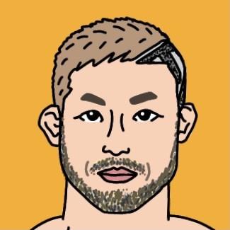 RIZIN総合格闘家 扇久保博正選手の似顔絵