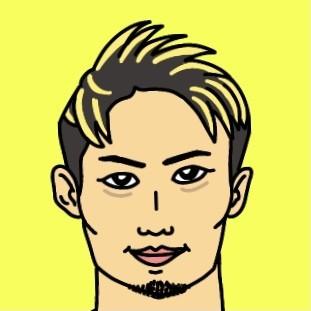 RIZIN総合格闘家 金太郎選手の似顔絵