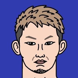 RIZIN伊藤空也選手の似顔絵