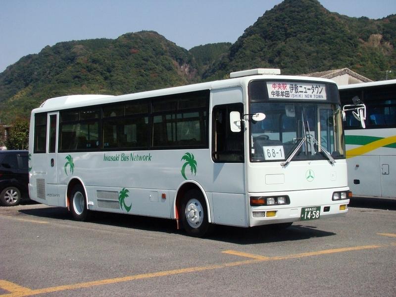 いわさきバスネットワーク(現:鹿児島交通)1458号車 元95-2574