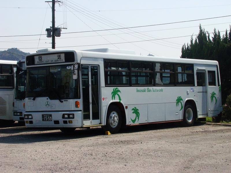 いわさきバスネットワーク(現:鹿児島交通)1559号車 元97-2651