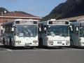 [元阪急バス]鹿児島交通1557号車 元99-338と1444号車 元98-629