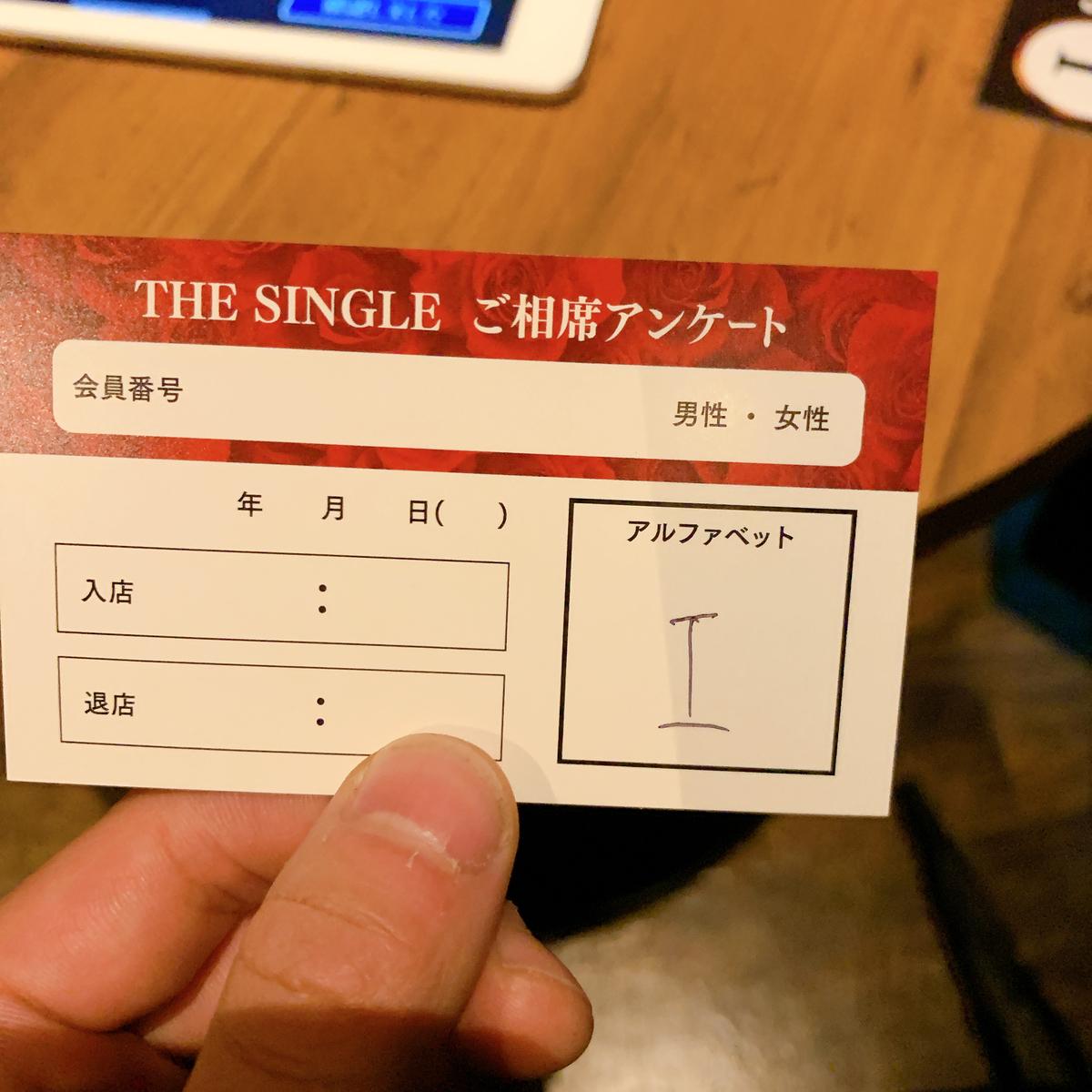 THE SINGLE