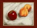 [ちょっと本格的]林檎と桃