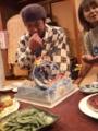 HAPPY BIRTHDAY!!チュービーなケーキ。