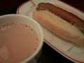 [twitter] 一駅歩いてベローチェで朝食。空腹でイライラしてた。ちょっと落ち