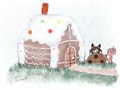 Daily draw: gingerbread house