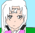 this is my OC Hikari when she is older
