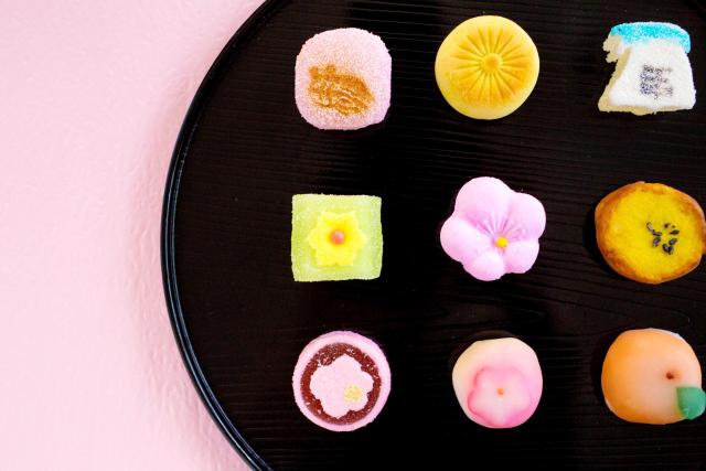 お正月の小さな和菓子