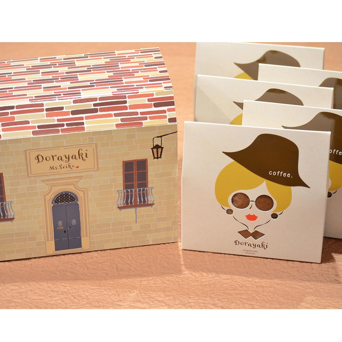 ≪清月堂本店≫DORAYAKI~coffee~ 5個入