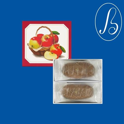 季節のショコラサブレ(林檎) 8枚入【メリーチョコレート】