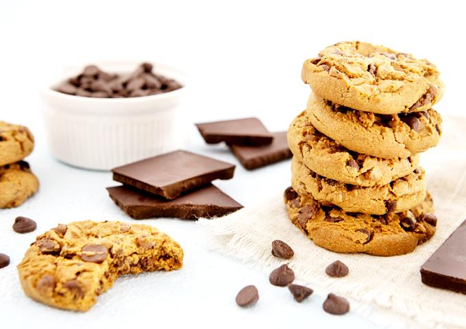 クッキーの正面山