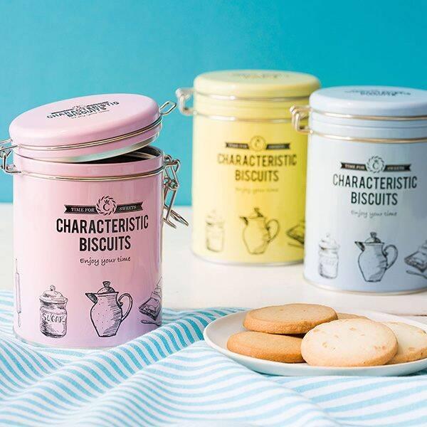 ティラミスクッキー缶/マカダミアクッキー缶/キャラメル岩塩クッキー缶