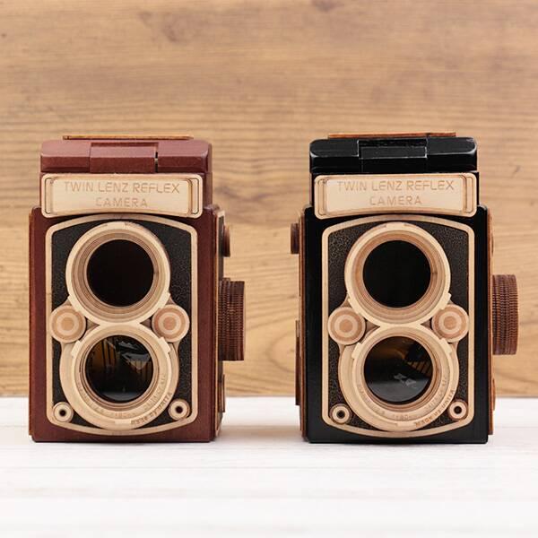 一眼レフレックスカメラ(木箱) 1個