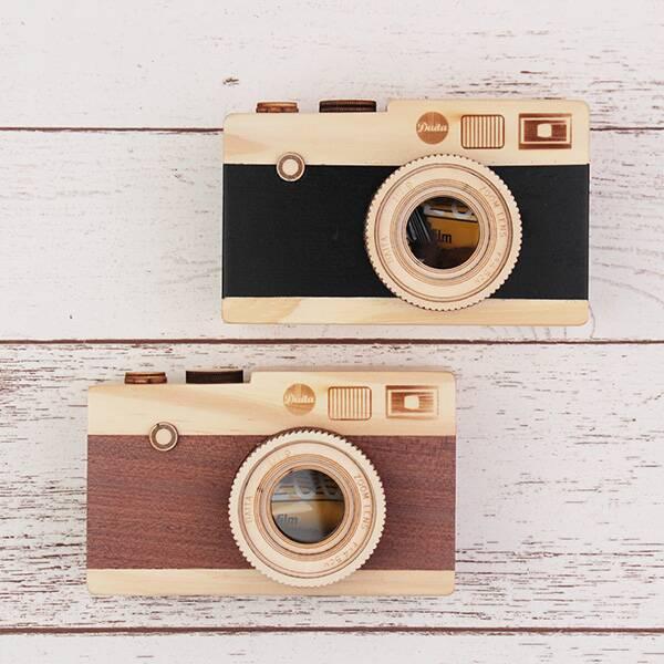 一眼レフカメラ(木箱) 1個