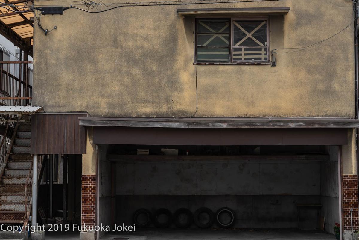 久留米の昭和レトロな建物の画像