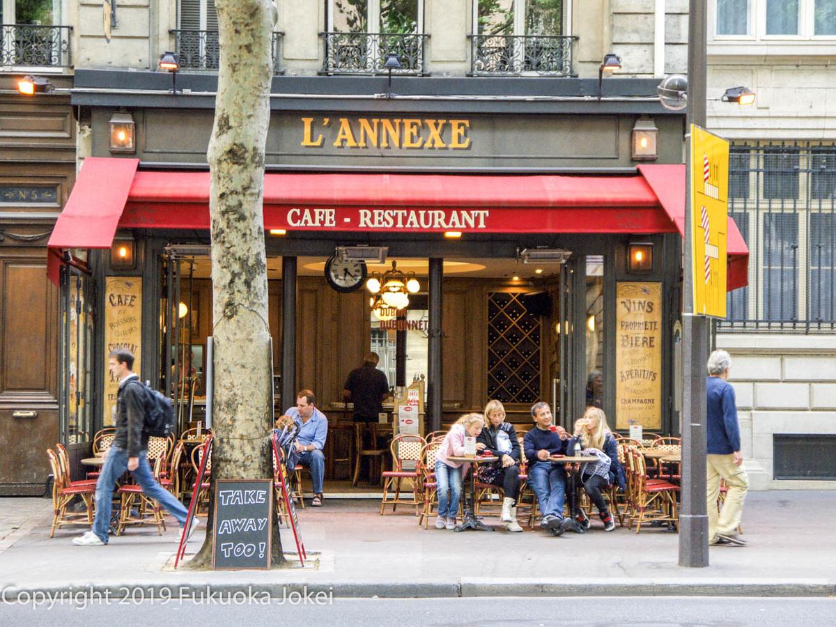 パリのカフェの画像