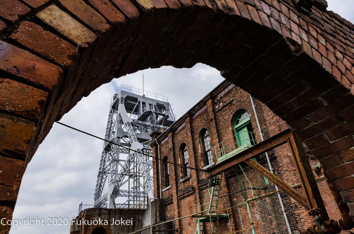 三池炭鉱 万田坑跡の画像