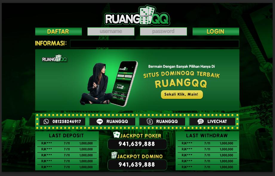 Perkembangan Ruang Dimensi Game Poker Online Server Pkv Ruangqq