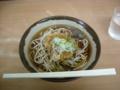 唐揚げそば@金町。杜(仙台)よりも小さいが蕎麦自体はベネ