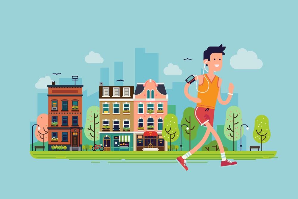 ジョギング,ジョギングおすすめ,ジョギングの効果,陸マイラークエスト