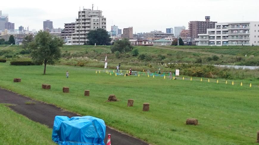 仙台30Kスタート・ゴール付近