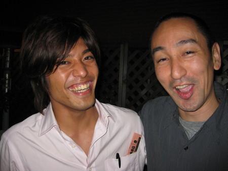 with Kinjo-san