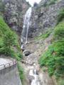 白山スーパー林道の一角の滝