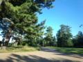尼御前の公園。空が幻想的ww