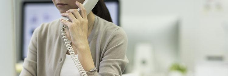 固定電話対応のために出社していませんか