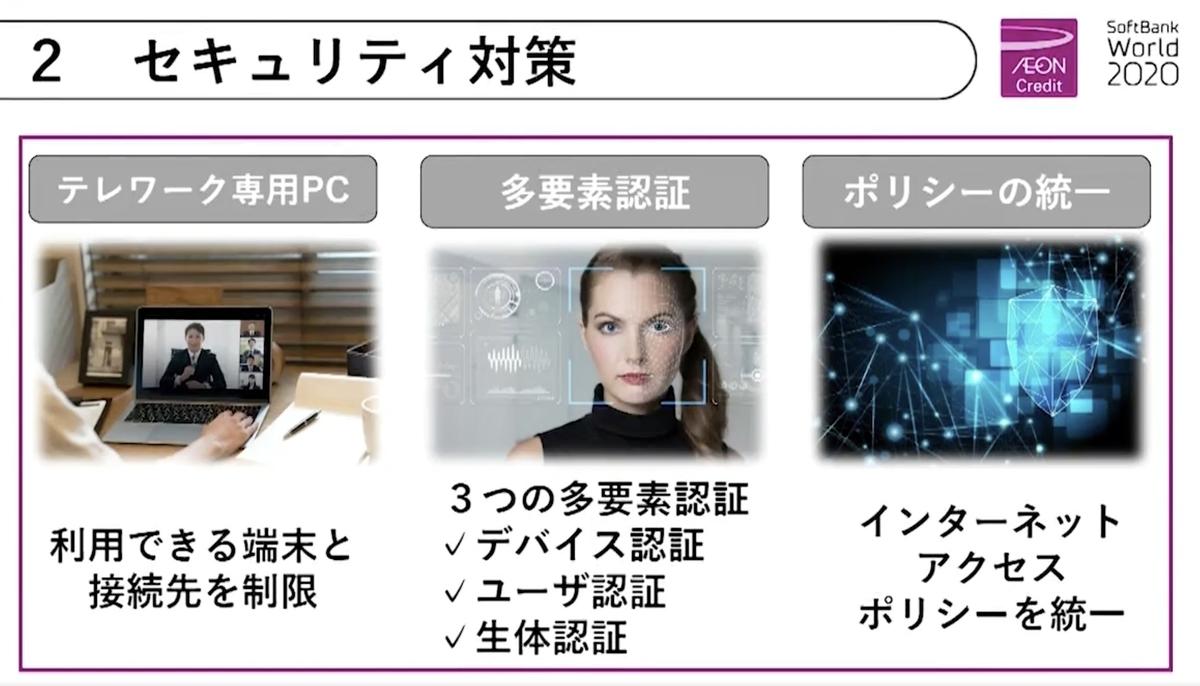 SoftBank World 2020  情報システム講演3