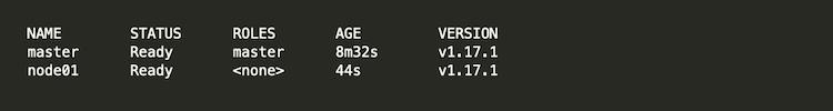 Kubernetesクラスタの構築 ワーカーノードをクラスタに追加