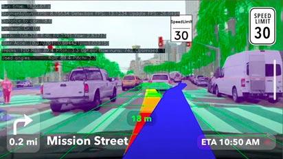 Vision SDKで開発したアプリの画面
