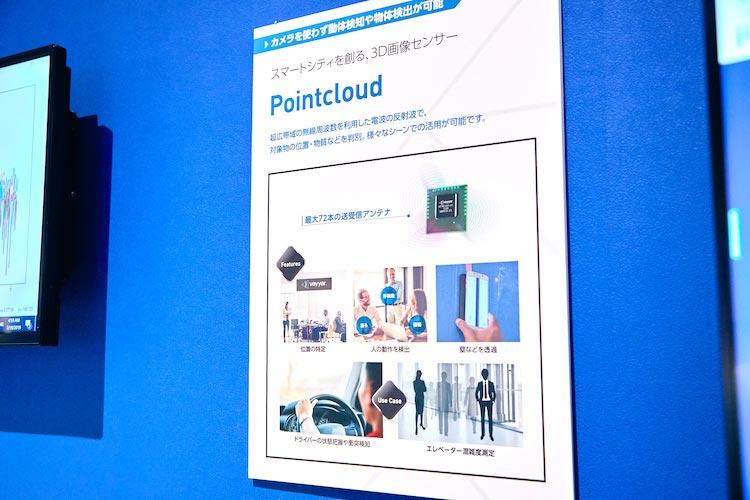スマートシティを作る3D画像センサ:Pointcloud