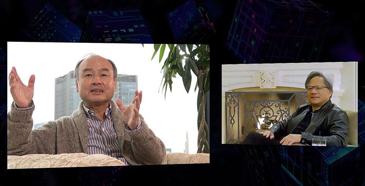 SoftBank World 2020 孫正義基調講演 NVIDIAフアン氏との対談