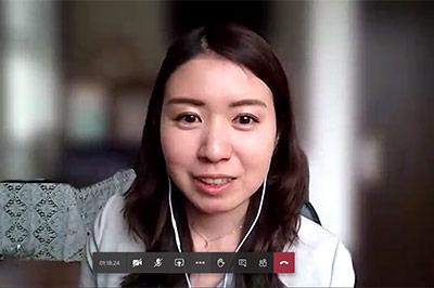 日本マイクロソフト株式会社 マーケティング & オペレーションズ部門 Microsoft 365 ビジネス本部 製品マーケティング部 プロダクトマーケティングマネージャー 水島 梨沙 氏