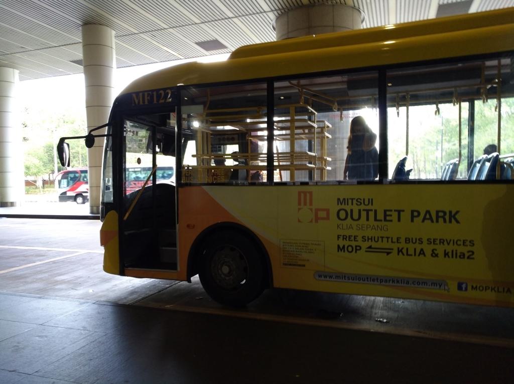 三井アウトレットパークに行くバス
