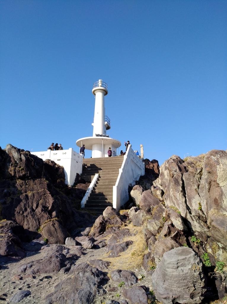 長崎鼻の灯台